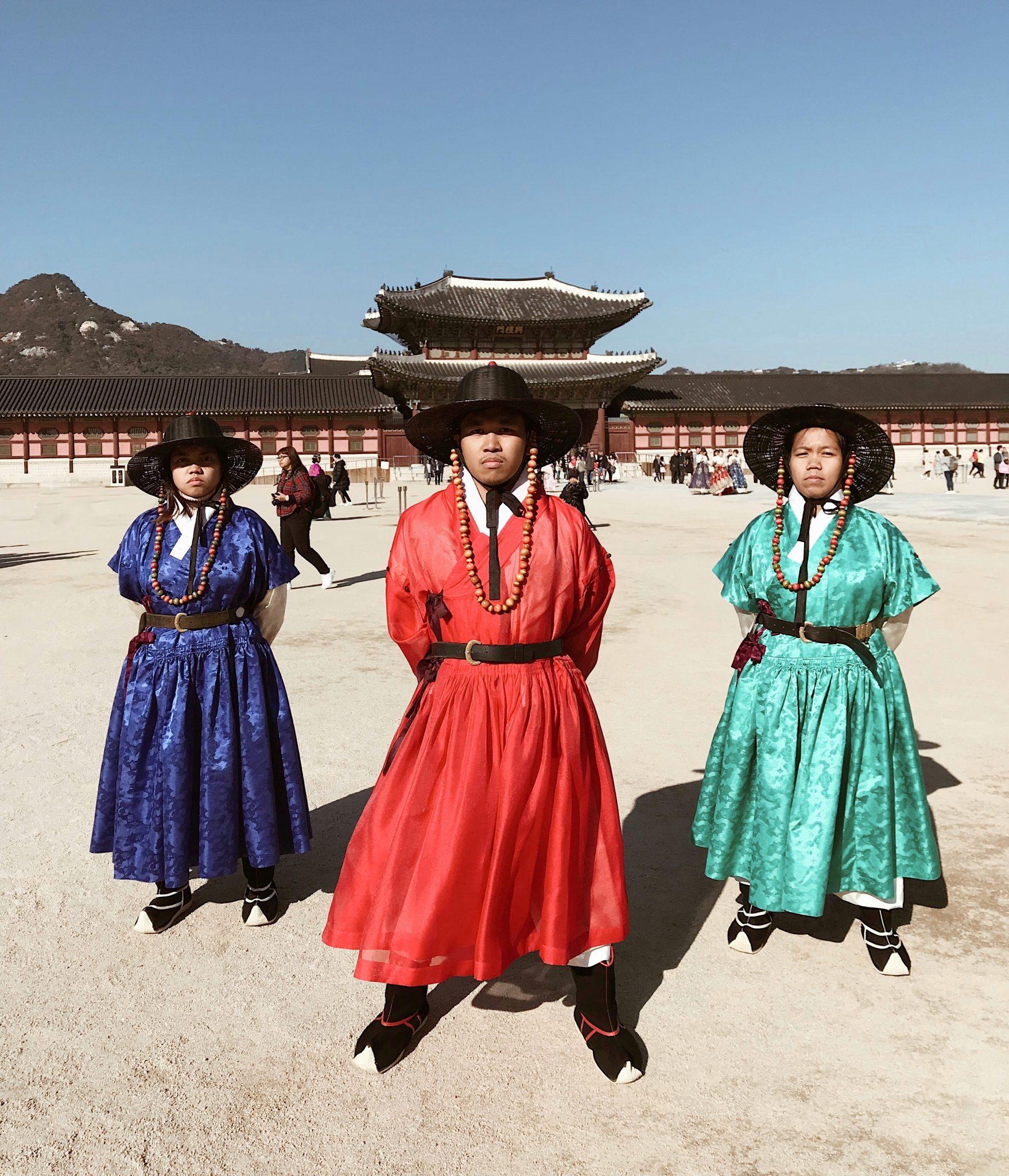 Gyeongbokgung Palace Guards Costume