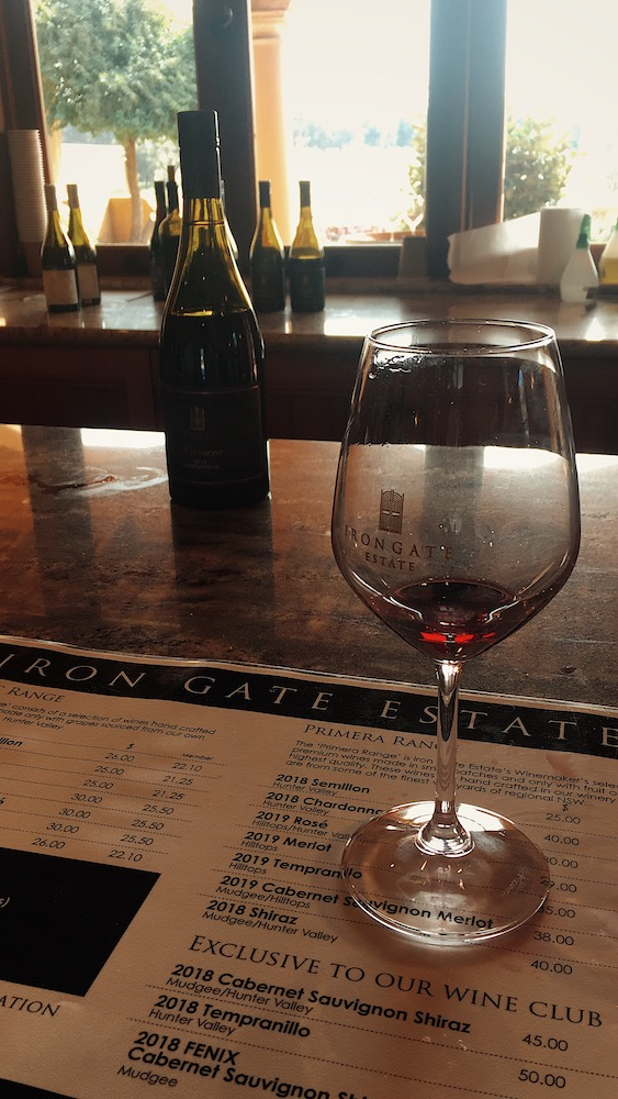 Iron Gate Estates Red Wine