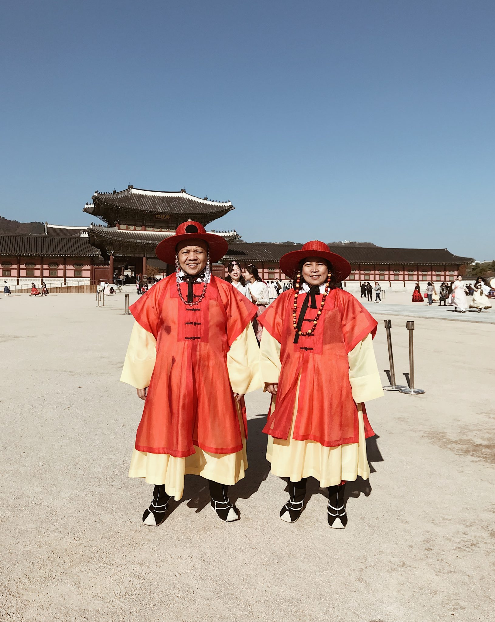 Gyeongbokgung Palace Parents