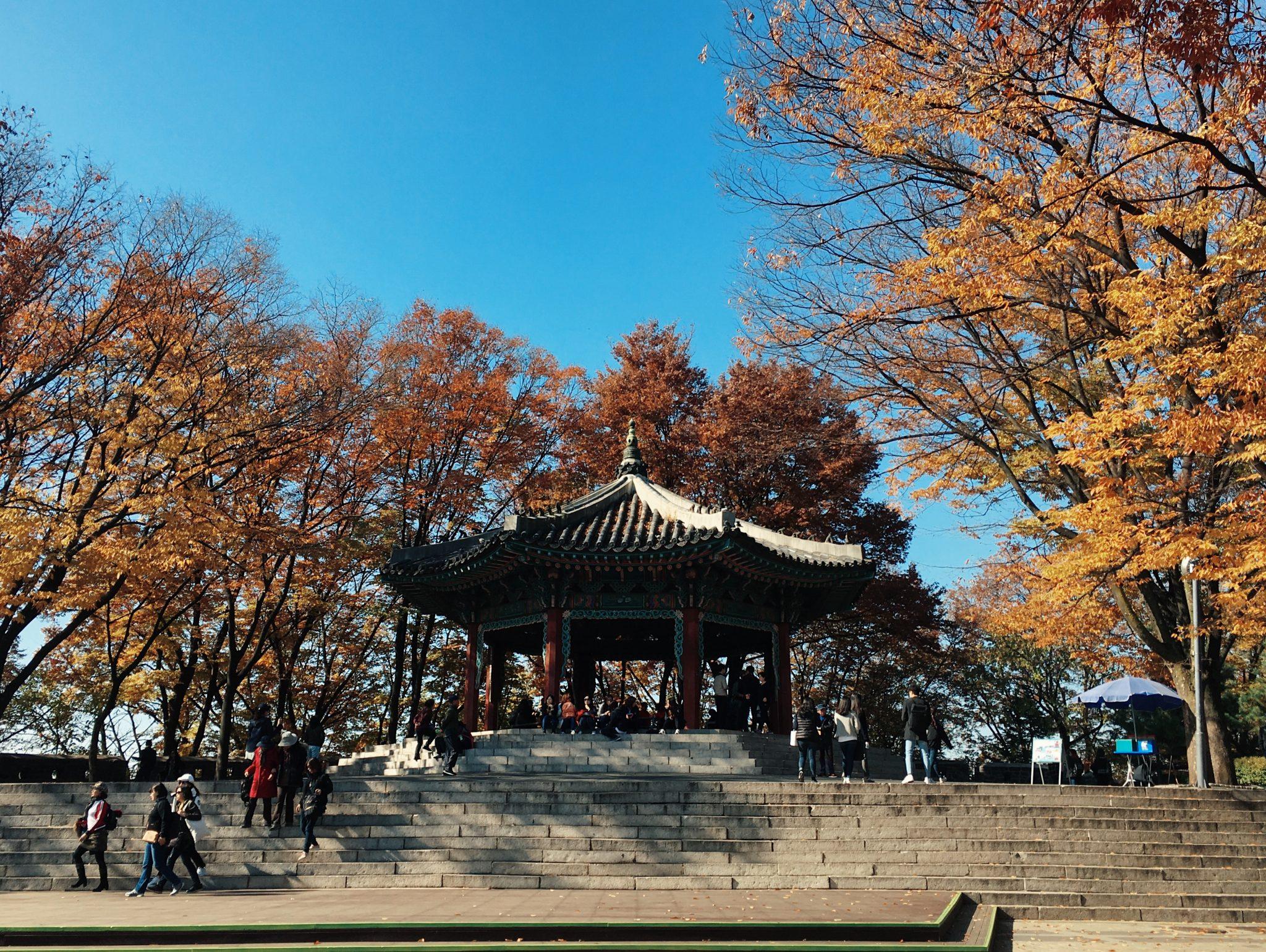 N Seoul Tower Gazebo