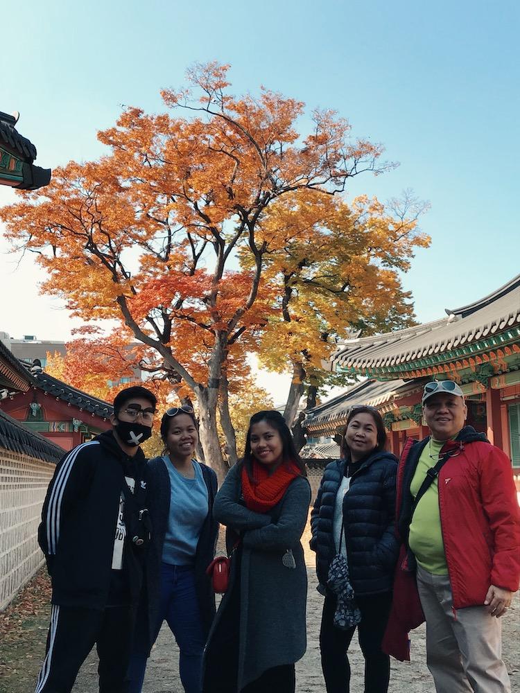 Changdeokgung Palace Fambam