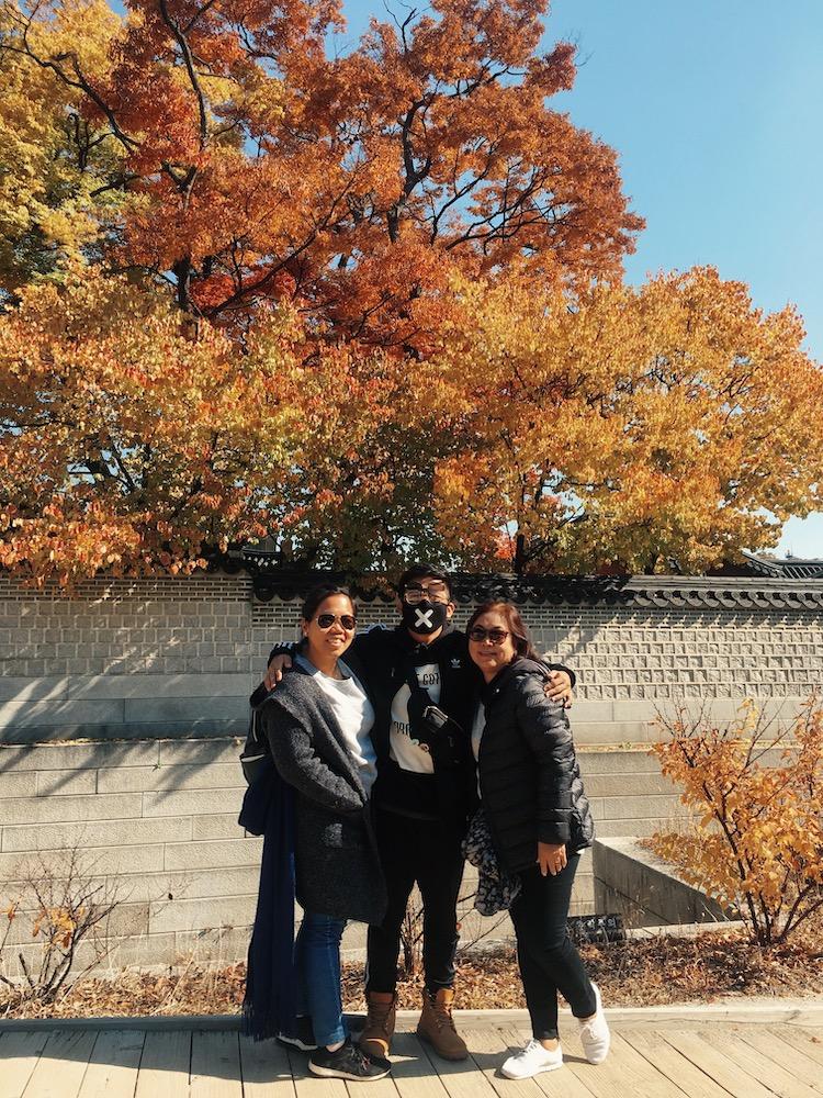 Changdeokgung Palace Mom Pam Pao