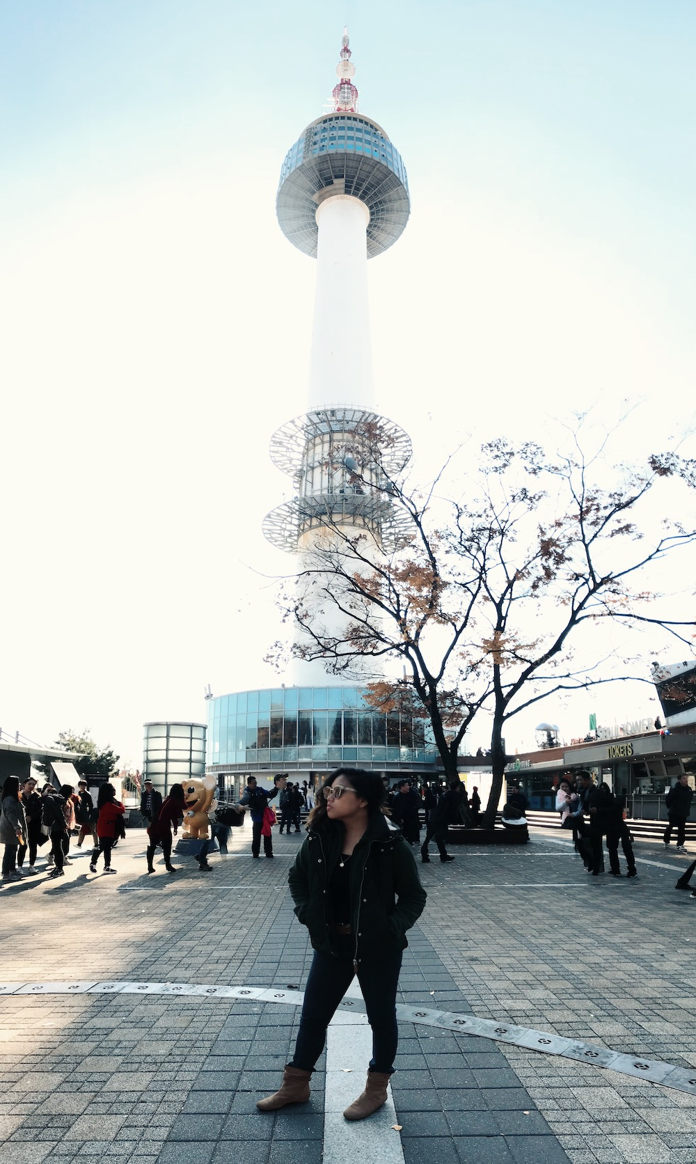 Trish at N Seoul Tower